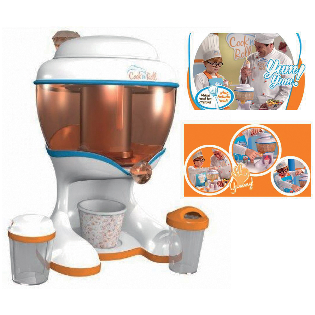 FRULLATORE GIOCATTOLO COOK/'N/'ROLL HAND MIXER CKBD